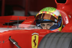 F1 2006 - Felipe Massa Ferrari Fotos de Stock Royalty Free