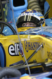 F1 2006 - Fernando Alonso Renault stock photography