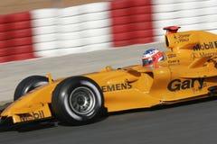 F1 2006 - Gary Paffett McLaren Royalty Free Stock Image