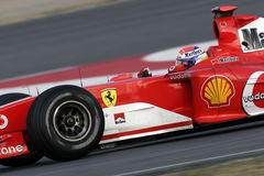 F1 2006 - Gene Ferrari de Marc Foto de Stock Royalty Free