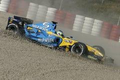 F1 2006 - Giancarlo Fisichella Renault Royalty Free Stock Image