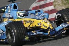 F1 2006 - Giancarlo Fisichella Renault Στοκ εικόνα με δικαίωμα ελεύθερης χρήσης