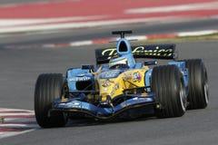 F1 2006 - Giancarlo Fisichella Renault Fotografie Stock Libere da Diritti