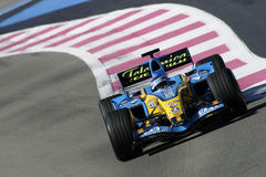 F1 2006 - Heikki Kovalainen Renault Royalty Free Stock Photography