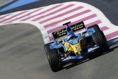F1 2006 - Heikki Kovalainen Renault Royalty-vrije Stock Fotografie
