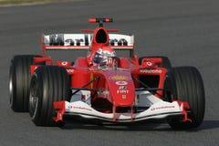 F1 2006 - het Gen Ferrari van Marc Stock Afbeelding