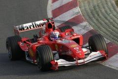F1 2006 - het Gen Ferrari van Marc Stock Foto's