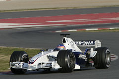 F1 2006 - Jacques Villeneuve BMW Sauber Stock Images