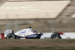 F1 2006 - Jacques Villeneuve BMW Sauber Arkivbild