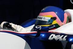 F1 2006 - Jacques Villeneuve BMW Sauber Royalty-vrije Stock Afbeelding