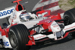 F1 2006 - Jarno Trulli Тойота Стоковые Фотографии RF