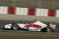 F1 2006 - Jarno Trulli Toyota Royaltyfri Fotografi