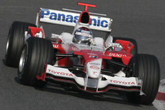 F1 2006 - Jarno Trulli Toyota Photo stock