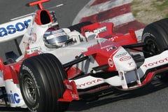 F1 2006 - Jarno Trulli Toyota Fotos de archivo libres de regalías
