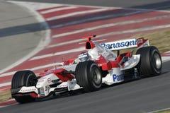 F1 2006 - Jarno Trulli Toyota Fotografering för Bildbyråer