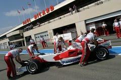 F1 2006 - Jarno Trulli Toyota Royaltyfria Bilder