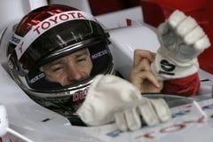 F1 2006 - Jarno Trulli Toyota Arkivbild