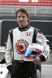 F1 2006 - Jenson Button Honda Royalty Free Stock Photos