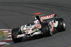 F1 2006 - Jenson Button Honda Stock Afbeelding