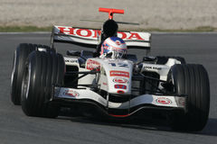 F1 2006 - Jenson Button Honda Stock Photos
