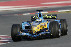 F1 2006 - Juan Carlos Fisichella Renault Fotos de archivo libres de regalías