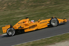 F1 2006 - Juan Pablo Montoya McLaren Royalty Free Stock Photography