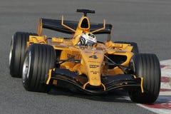 F1 2006 - Juan Pablo Montoya McLaren Imágenes de archivo libres de regalías