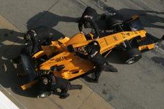 F1 2006 - Juan Pablo Montoya McLaren Imagens de Stock Royalty Free