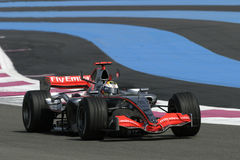 F1 2006 - Juan Pablo Montoya McLaren Stock Photo