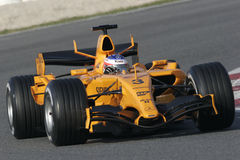 F1 2006 - Kimi Raikkonen McLaren Royalty Free Stock Photo