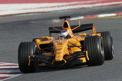 F1 2006 - Kimi Raikkonen McLaren Stock Image