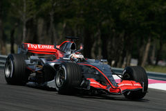 F1 2006 - Kimi Raikkonen McLaren Royalty Free Stock Photos