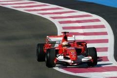 F1 2006 - Luca Badoer Ferrari Royalty Free Stock Photos