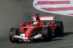F1 2006 - Luca Badoer Ferrari Stock Image
