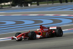 F1 2006 - Luca Badoer Ferrari Royalty Free Stock Photos