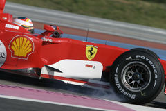 F1 2006 - Luca Badoer Ferrari Royalty Free Stock Photography