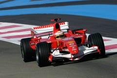F1 2006 - Luca Badoer Ferrari Стоковое Изображение RF