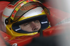 F1 2006 - Luca Badoer Ferrari Imagem de Stock Royalty Free