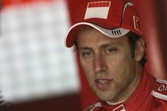F1 2006 - Luca Badoer Ferrari Fotografia de Stock Royalty Free