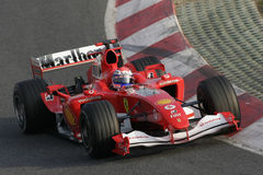 F1 2006 - Marc gen Ferrari Arkivfoton