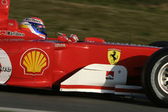 F1 2006 - Marc Gene Ferrari Royalty Free Stock Photo