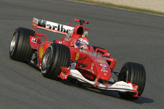 F1 2006 - Marc Gene Ferrari Stock Photography
