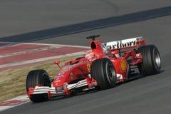 F1 2006 - Michael Schumacher Ferrari Royalty Free Stock Photo