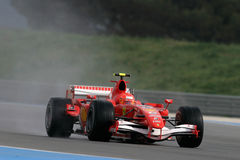 F1 2006 - Michael Schumacher Ferrari Fotografia Stock