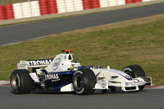 F1 2006 - Nick Heidfeld BMW Sauber Royalty Free Stock Photo