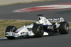 F1 2006 - Nick Heidfeld BMW Sauber Royalty Free Stock Photos