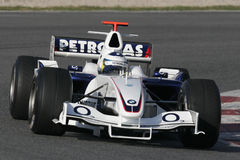 F1 2006 - Nick Heidfeld BMW Sauber Stock Photography