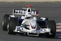 F1 2006 - Nick Heidfeld BMW Sauber Arkivbild