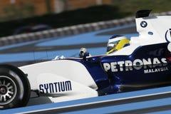 F1 2006 - Nick Heidfeld BMW Sauber Stock Image