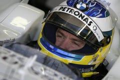 F1 2006 - Nick Heidfeld BMW Sauber Royalty Free Stock Photo